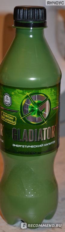 Энергетический напиток GLADIATOR  фото