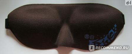 Маска для сна Tinydeal Practical Sleeping Eyeshade Blinder Eyepatch Eye Shield for Trip Sleep Relax - Brown HLI-70375 фото