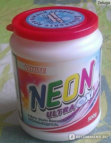 Кислородный пятновыводитель neon фото