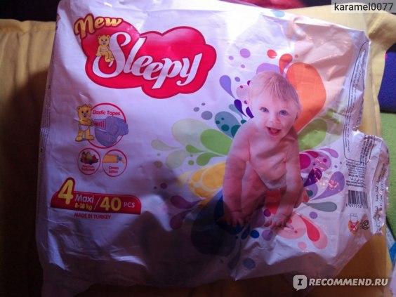 Подгузники Sleppy new фото
