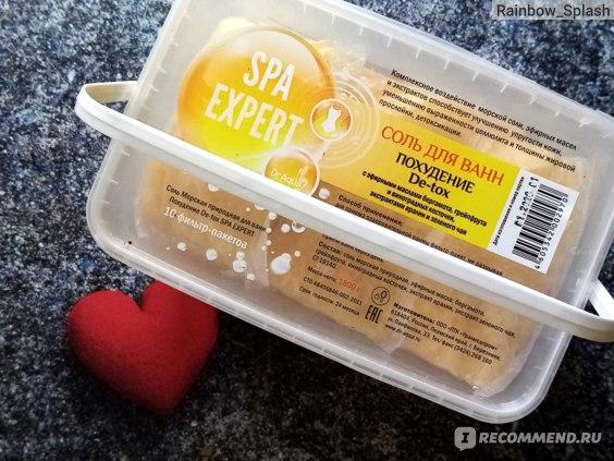 Соль для ванн похудение Detox отзывы