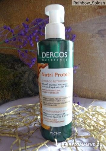 Шампунь для волос Vichy Dercos Nutrients Nutri Protein Shampoo фото
