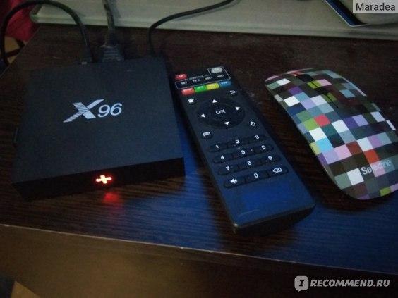 ТВ-приставка TV BOX X96 фото