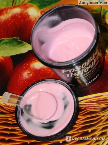 Крем для ног  Lush Розовые пяточки фото