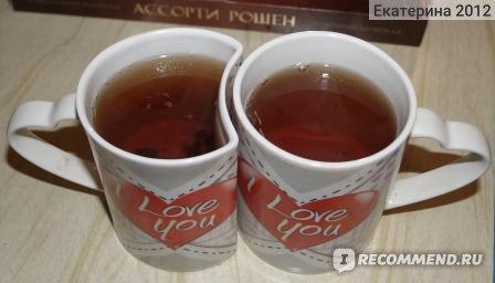 """Чашки для влюбленных Уютерра """"I love you"""" фото"""