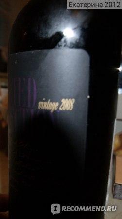 Вино красное сухое Limited Selection Merlot фото