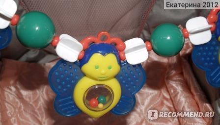Подвеска для коляски Мир детства Бабочки фото
