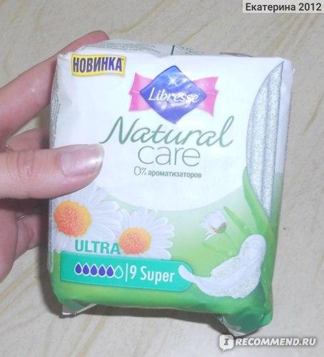 Прокладки Libresse Natural Care Ultra Normal  фото
