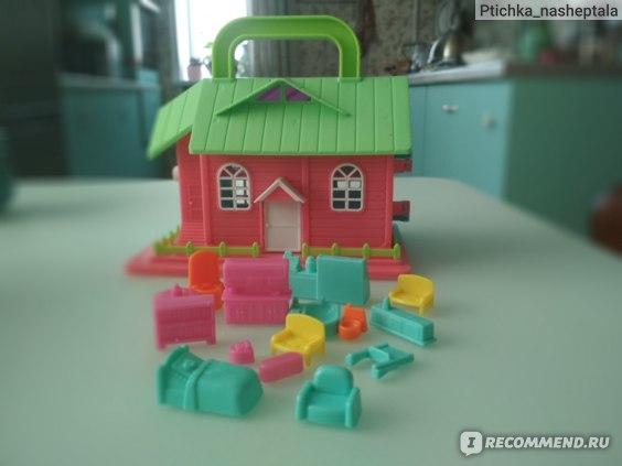 """PLAY THE GAME Игровой набор """"Кукольный домик с мебелью"""" фото"""