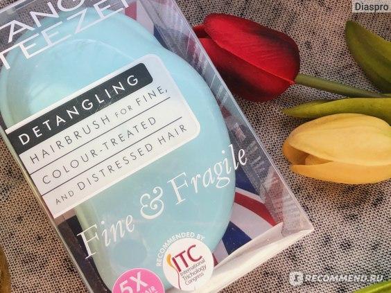 TANGLE TEEZER Fine & Fragile отзывы