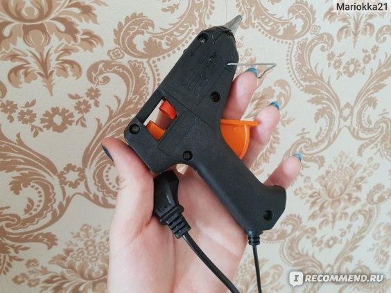 Пистолет клеевой Fix Price  фото