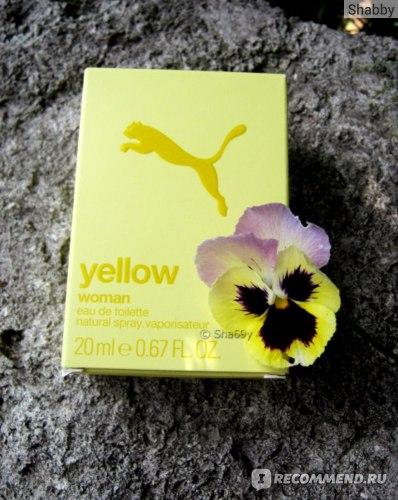 Puma  Yellow фото