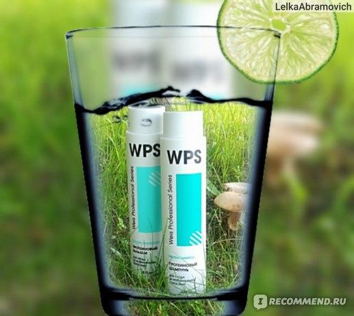 Шампунь WPS Weis Professional series Протеиновый для ухода за нормальными волосами