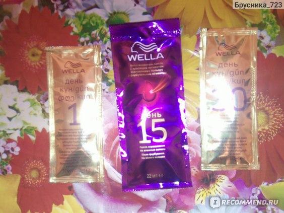 Краска для волос Wella Wellaton 2 в 1 с восстановителем цвета на 15 день фото