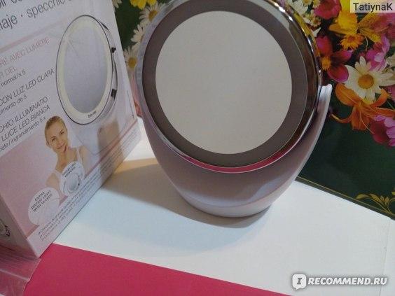 Настольное косметическое зеркало с подсветкой Beurer BS49 фото