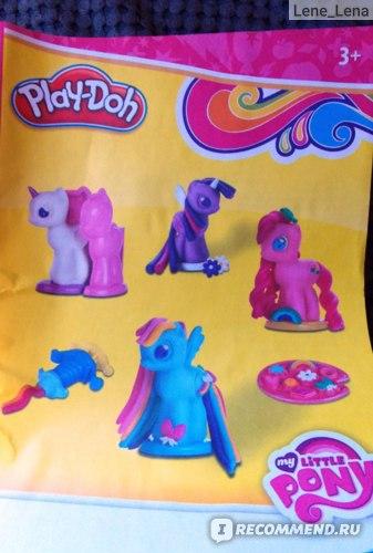 """Набор для детского творчества Play-doh """"Создай любимую Пони"""" фото"""