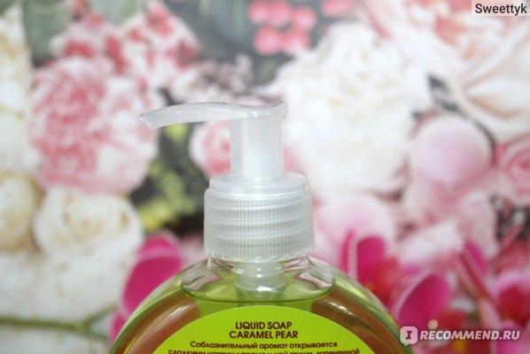 Крем-мыло для рук Faberlic «Карамельная груша» серии Beauty Cafe