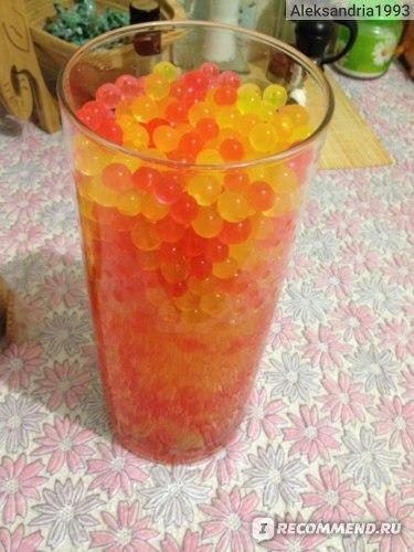 Tinydeal декоративный грунт для растений (аквагрунт шарики) 9-Bag Colorful Magic Nutrient & Moisturizing Crystal Water Jelly Mud Soil Beads Balls Vase Decorator for Plant Growing  фото