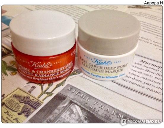 Маска для лица Kiehl'S Turmeric & Cranberry Seed Energizing Radiance Masque  фото