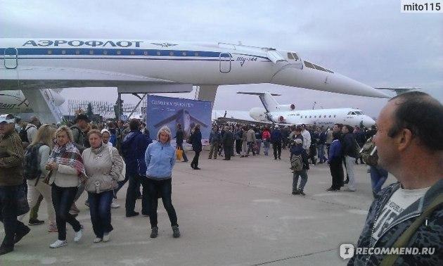 Авиашоу 2013 - Красавец ТУ-144, который хотят восстановить