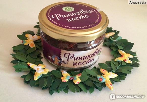 Финиковая паста Король Орех Natural Product фото