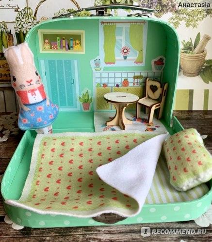 Bumbaram Игровой набор для детского творчества «Мой уютный домик» Зайка Арт. add-4 фото