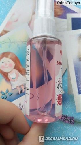 "Антибактериальный спрей для рук SHAKYLAB- ""Strawberry""  фото"