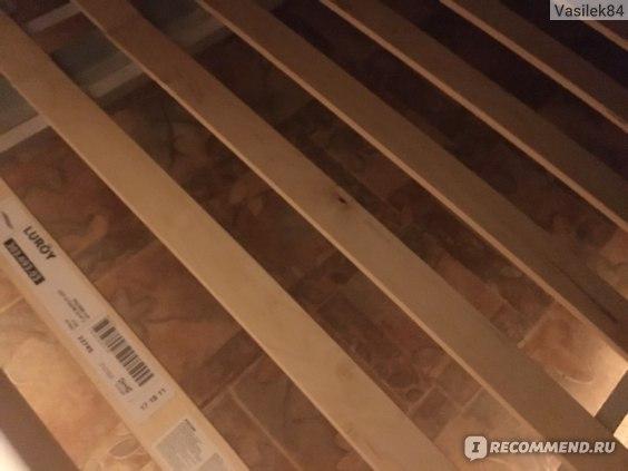 Кровать ИКЕА / IKEA ЛЕЙРВИК фото