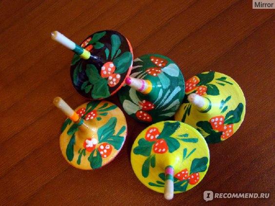 RN Toys Волчок с росписью (Д-005) фото