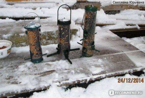 Кормушка уличная Trixie 450мл/23см., 4 жердочки, арт.5455 фото