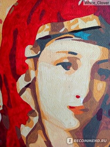 Живопись по номерам «Икона Богородицы» 30x40 арт. X-3407 фото