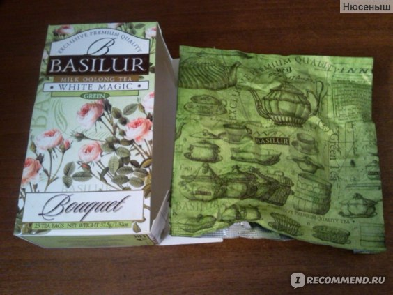 Чай Basilur White Magic фото