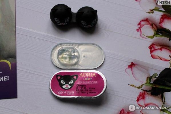 Оттеночные контактные линзы ADRIA Color 2 Tone фото