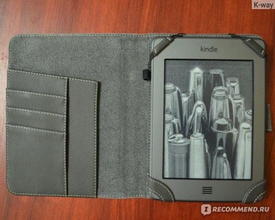 Электронная книга Amazon  Kindle Touch фото