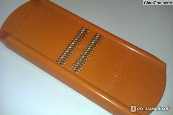 """Тёрка для корейской моркови Borner """"Roko"""" фото"""