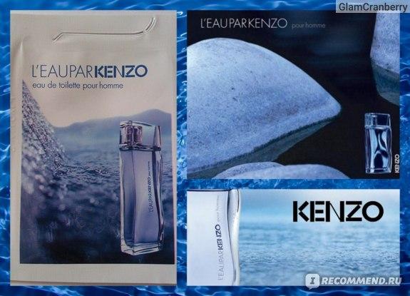Kenzo L'eau par Kenzo pour Homme фото