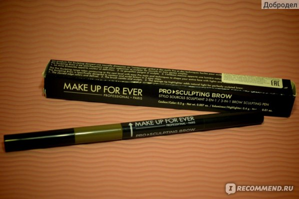 Карандаш для бровей Make up for ever PRO Sculpting Brow фото