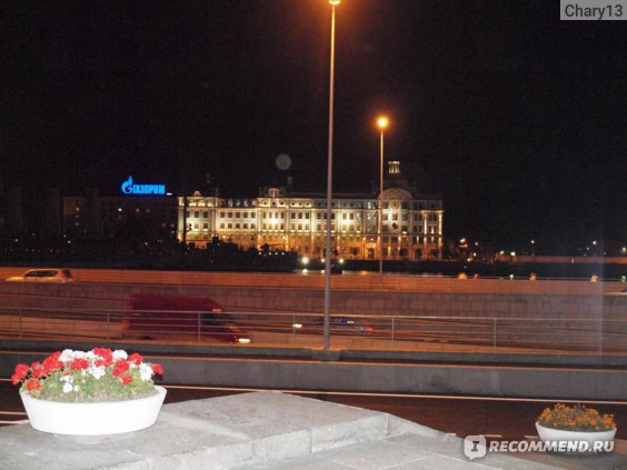 Ночной вид с отеля