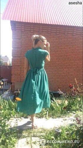 Платье летнее AliExpress SSummer style Robe longue femme chiffon dress boho robe sexy Sandy beach long Vestidos Femininos 2016 festa Lace vestido longo фото