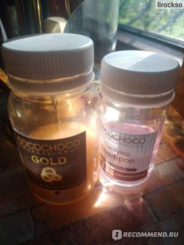 Кератиновое выпрямление  Cocochoco Gold  фото