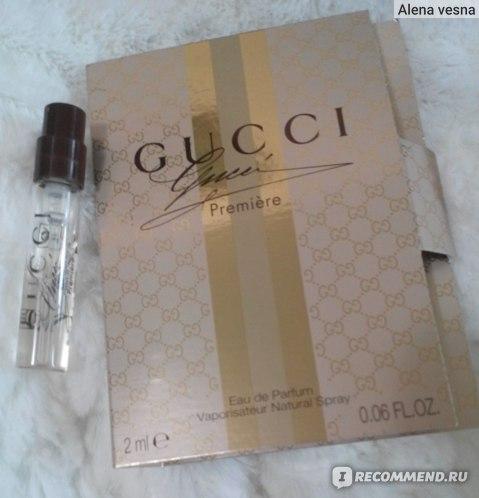 Gucci Premiere фото