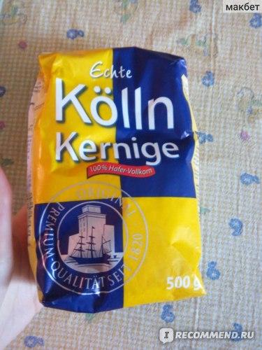 Овсяные хлопья Kölln Echte  Kernige фото