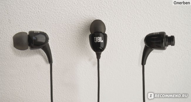 Наушники JBL T100 фото