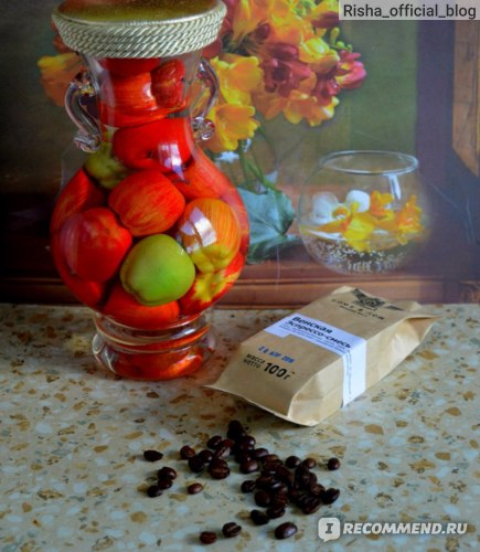 Кофе в зёрнах Кофе в Дом Венская Эспрессо-смесь фото