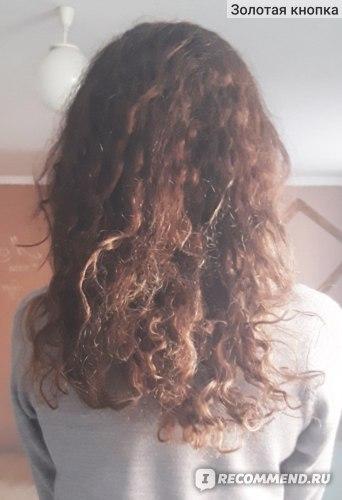 На 3 день после мытья волос
