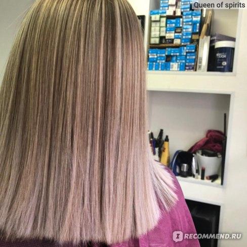 Сразу после процедуры ботокс для волос