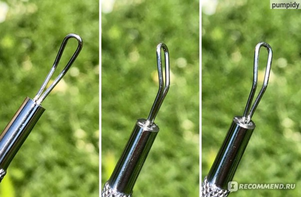 Прибор для удаления черных точек Holika Holika Magic tool dual sebum extruder  фото
