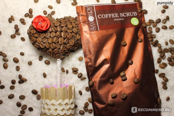 Скраб для тела Savonry Coffee Scrub Chocolate  фото