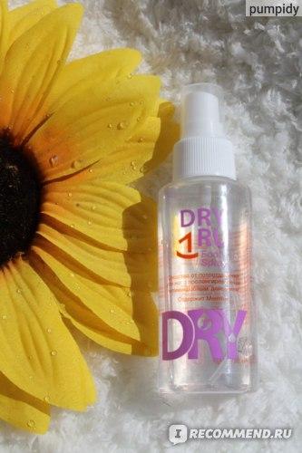 Средство от обильного потовыделения Dry Ru  для ног Foot Spray фото