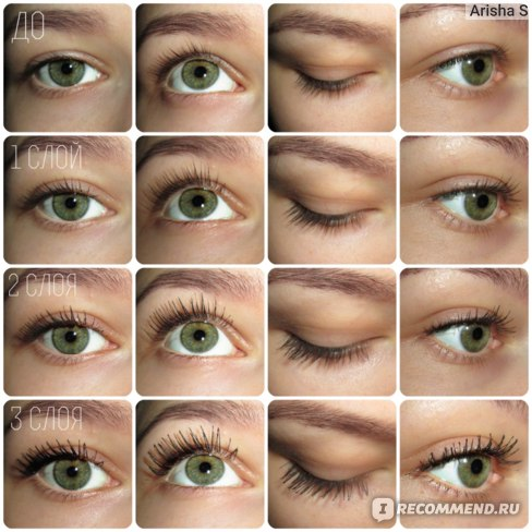 Тушь для ресниц Eveline big volume lash Natural bio formula фото